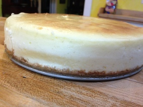 And, I made my very first cheesecake (it turned out marvelously if I may say so)