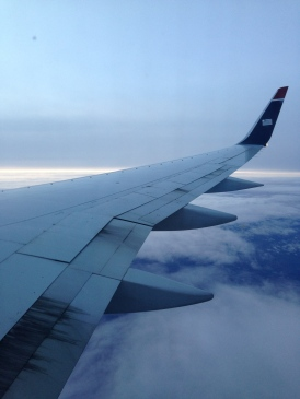 Then we got onto a plane and headed across the ocean.
