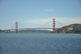 The one and only Golden Gate Bridge from the ferry.