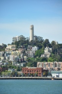 Coit Tower from the ferry