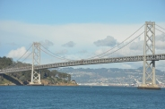 The Bay Bridge from the ferry