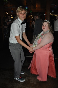 #Selfless. Zach was amazing and took this sweet girl to prom.