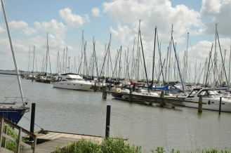 The Marina near Volendam was also quite lovely. Especially on such a beautiful day.