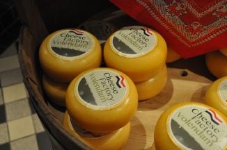 Volendam cheese fresh from the farm.
