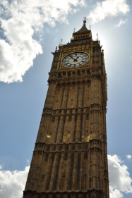 I have roughly 100 pictures of Big Ben (simply because you can see it where ever you go in London) but this one was my favorite.