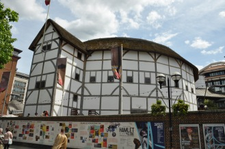 And here is a replica of Shakespeare's Globe. Just because.