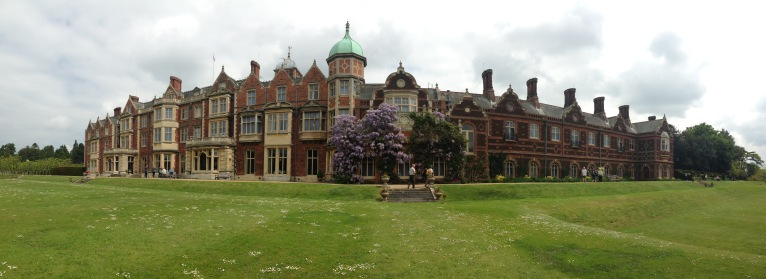 Sandringham House (panorama... its not actually curved...)