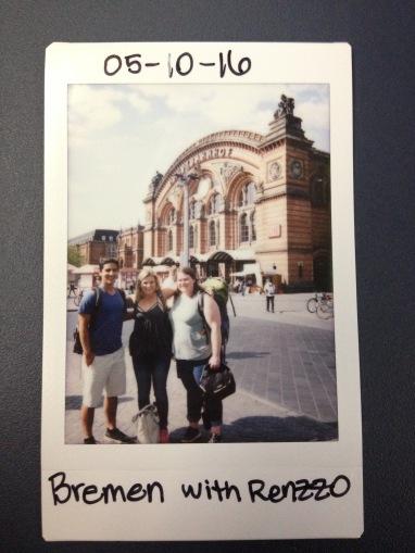 Leaving Bremen
