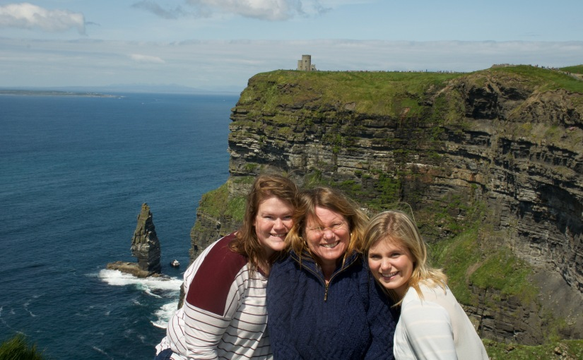 Europe Trip 2016 || Day 16: Cliffs of Moher and Spiddal,Ireland
