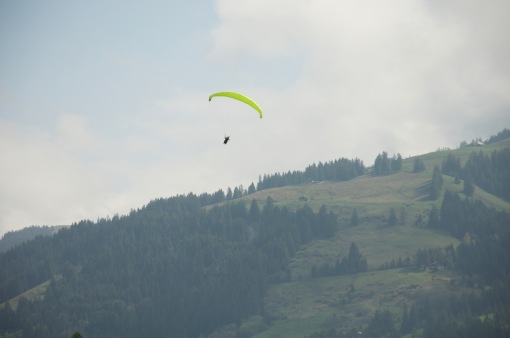 Paragliding in the Alps, sign me up!