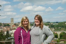 At the top of Fribourg