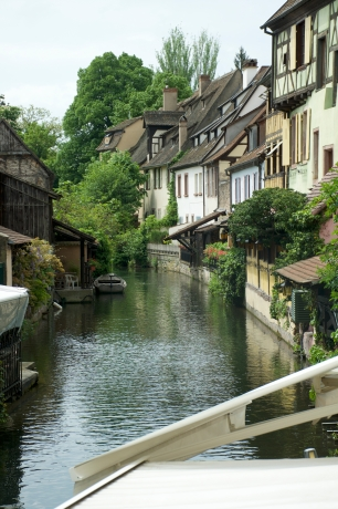 A small canal in Colmar
