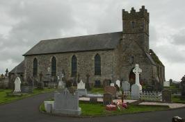 The church across the bay in Abbeyside