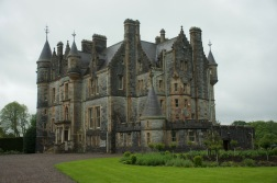 The private house on the Blarney Castle grounds was like a mini castle in itself.