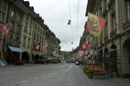The streets of Bern are quite lovely.