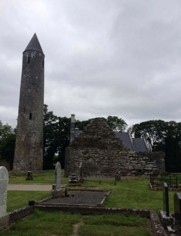 The Timahoe Round Tower (photo courtesy of Conor)