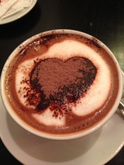 The best ever Swiss hot chocolate