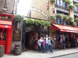After lunch at the famous Temple Bar