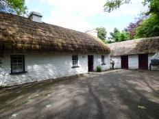 The village around Bunratty Castle.