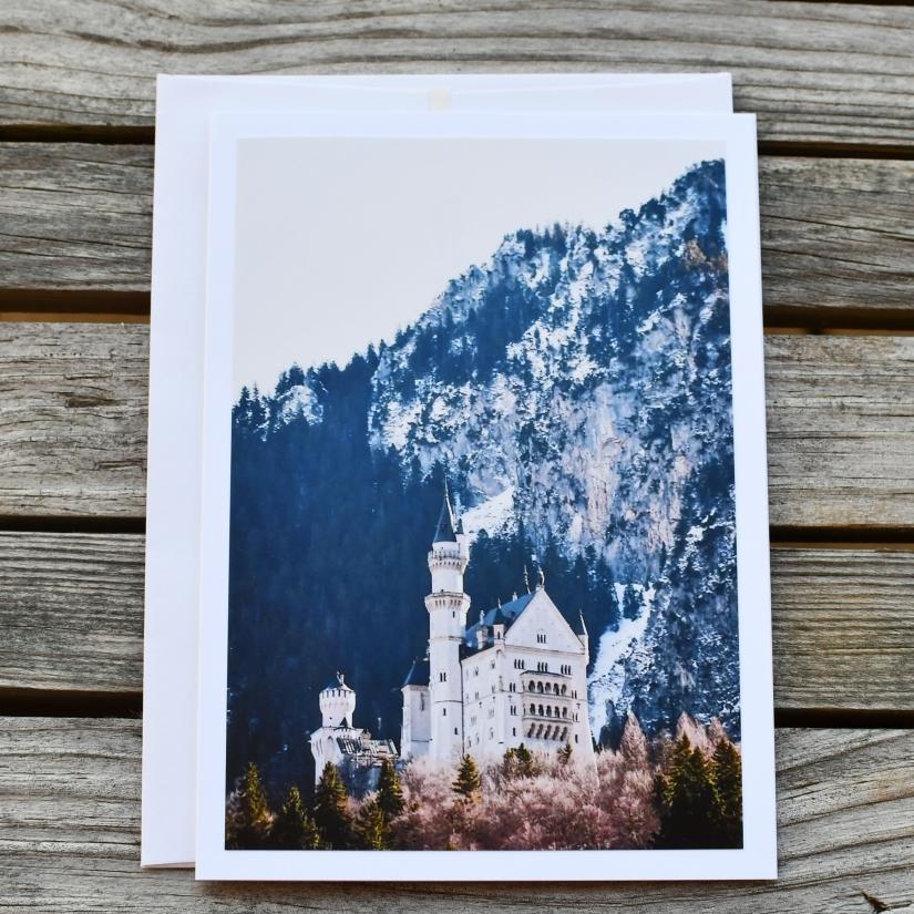 Neuschwanstein Castle GreetingCard